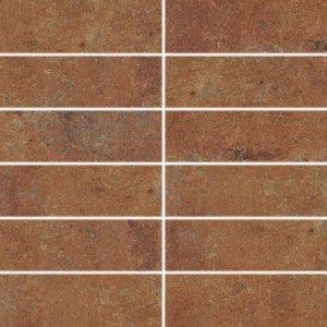 RAKO Siena dekor červeno-hnedá 45x45 DDP44665