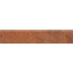 RAKO Siena sokel červeno-hnedá 45x8,5 DSAPM665