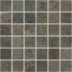 RAKO Como mozaika set 30x30 cm hnedo-čierna 5x5 DDM05694