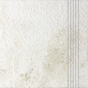 RAKO Como schodovka biela 33x33 DCP3B692