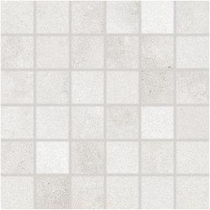 RAKO Form mozaika set 30x30 cm svetlá sivá 5x5 DDR05695