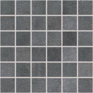 RAKO Form mozaika set 30x30 cm tmavá sivá 5x5 DDR05697