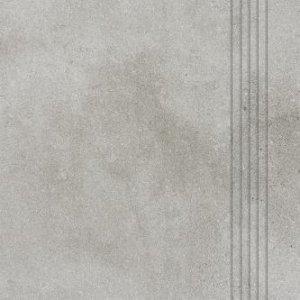 RAKO Form schodovka sivá 33x33 DCP3B696