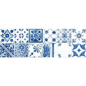RAKO Majolika obkladačka - dekor modrá 20x60 WARVE146