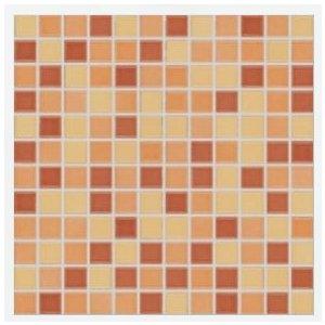 RAKO Pool mozaika set 30x30 cm oranžová 2,5x2,5 GDM02044