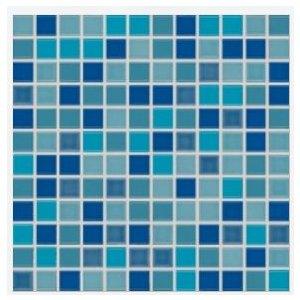 RAKO Pool mozaika set 30x30 cm modrá 2,5x2,5 GDM02045