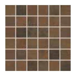 RAKO RUSH mozaika set tmavá hnedá 30x30 WDM06520