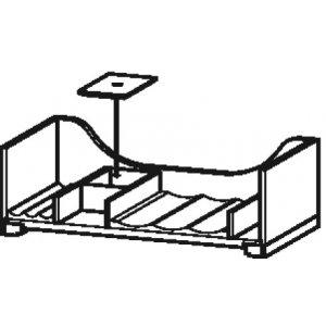 DURAVIT L-Cube UV980 Vnitřní vybavení