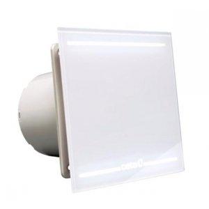 Cata Ventilátor kúpeľňový s LED podsvietením biela farba 00900001