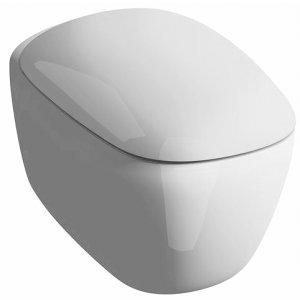 Geberit Citterio Závesné WC Rimfree biela, rôzne vyhotovenia 500.510.01.1