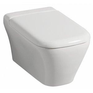 Geberit myDay Závesné WC bez splachovacieho kruhu biela, rôzne prevedenia 201460600