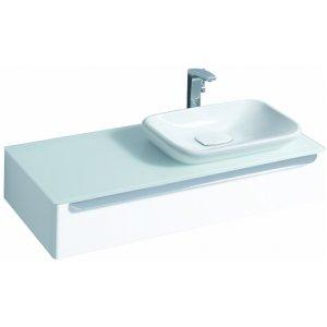Geberit myDay Skrinka pod umývadlo, závesná s výrezom 115 x 20 x 52 cm, rôzne prevedenia