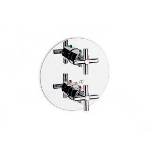 ROCA Loft Vaňová/sprchová termostatická podomietková batéria chróm A5A0643C00 (75A0643C00)