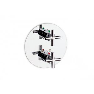 ROCA Loft chrom 75A0643C00 Vanová / sprchová termostatická podomítková baterie (A5A0643C00)