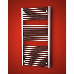 ISAN PALMYRA RADIUS CHROM Kúpeľňový designový radiátor rôzne prevedenia
