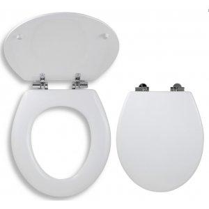 Novaservis WC Sedátka Prestige Pomaly padajúce sedátko lyra tvarované drevo WC/SOFTLYRA