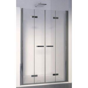 SanSwiss SWING line F SLF2 2 dvoudílné skládací dveře v rovině různé rozměry a provedení