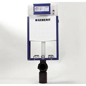 Geberit Kombifix Basic pre závesné WC, s nádržkou Delta 12 cm 110.100.00.1