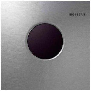 Geberit Mambo Elektronické ovládanie splachovania pisoárov, batériové Kefovaná ušľachtilá oceľ 116.033.FW.1