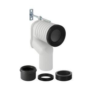 Geberit Monolith Pripojovacia súprava pre stojace WC s P- kolenom alpská biela 131.081.11.1