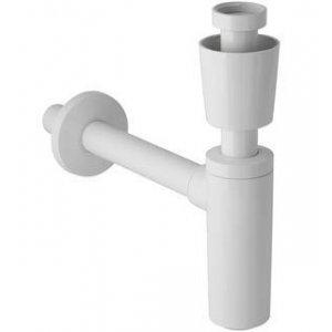 Geberit Zápachová uzávierka pre umývadlo s deliacou stenou, kryt ventilu rôzne prevedenia