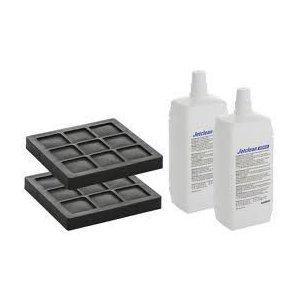 Geberit AquaClean filter s aktivnym uhlím a čistiaci prostriedok pre trysky (súprava po 2 kusoch) 240.626.00.1