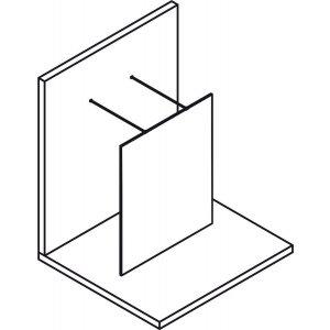 Sapho MODULAR SHOWER stena WALK-IN, jednodielna, rôzne prevedenia