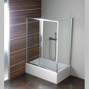Sapho DEEP obdĺžniková sprchová zástena 1000x900mm L/P varianta rôzne prevedenia