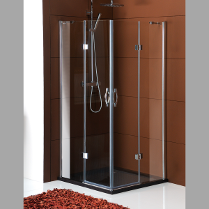 Sapho LEGRO štvorcová sprchová zástena 900x900mm, číre sklo rôzne prevedenia