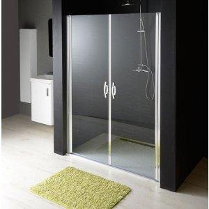 Sapho ONE sprchové dvere dvojkrídlové do niky, číre sklo 6 mm,