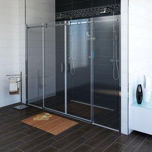 Sapho DRAGON Sprchové dvere, sklo číre,