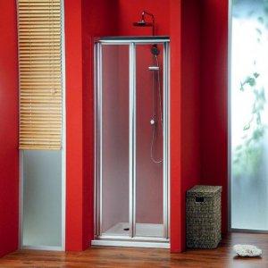 Sapho SIGMA Sprchové dvere skladacie, číre sklo,