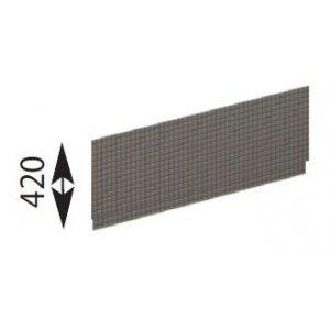 Sapho CARMEN TIFA panel čelný k hlbokej vaničke, výška 42cm 29909