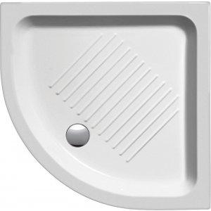 Sapho Keramická sprchová vanička, štvrťkruh, R550 rôzne rozmery