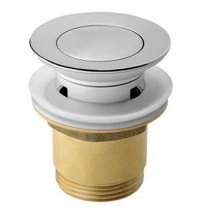 Sapho Uzatvárateľná umývadlová výpusť kliklak malá zátka,38 mm, chróm TF8001
