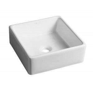 Sapho Umývadlo na dosku 38x13,5x38 cm, keramika BH7006