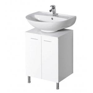 Sapho Ekoset Skrinka pod umývadlo biela, 50x30x50 cm 57030