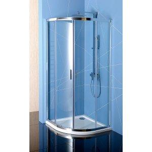 Sapho EASY LINE štvrťkruhová sprchová zástena, číre sklo, rôzne prevedenia