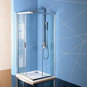 Sapho EASY LINE sprchová zástena, čiré sklo, rôzne prevedenia