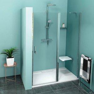 Sapho ZOOM LINE sprchové dvere, číre sklo,