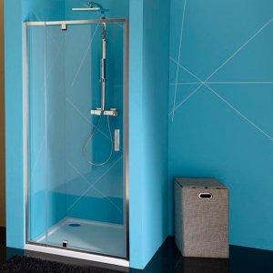 Sapho EASY LINE otočné sprchové dvere, číre sklo, rôzne prevedenia
