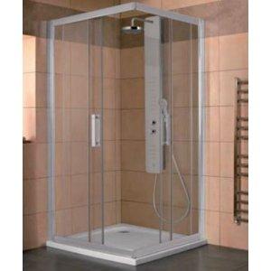 IDEAL Standard SYNERGY Štvorcový sprchový kút Lesklá strieborná