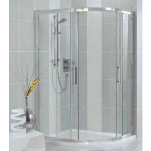 IDEAL Standard SYNERGY Štvrťkruhový sprchový kút Lesklá strieborná