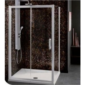 IDEAL Standard SYNERGY Posuvné sprchové dvere Lesklá strieborná