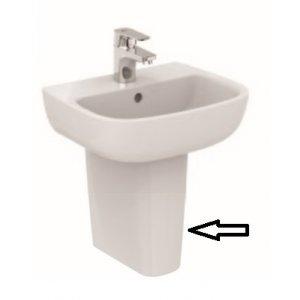 IDEAL Standard Esedra Polostĺp pre umývadielko Biela T290301