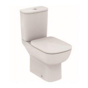 IDEAL Standard Esedra Kombinované WC Biela T283401+T282801
