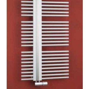 PMH Helios Rovný koupelnový radiátor s připojením na střed