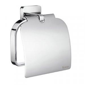 Smedbo Ice Držiak toaletného papiera s krytom leštený chróm OK3414