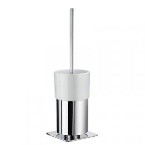 Smedbo Outline WC súprava 415 mm, leštený chróm / porcelán FK321P