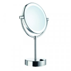 Smedbo Outline Kozmetické zrkadlo LED-technológia 180 mm, leštený chróm FK474E